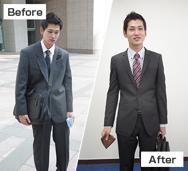 人の印象before-after